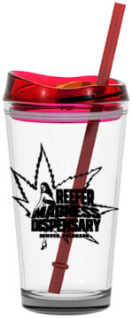 REEFER MADNESS PINT GLASS