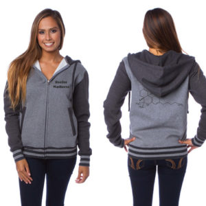 WOMANS REEFER MADNESS ZIP-UP HOODY